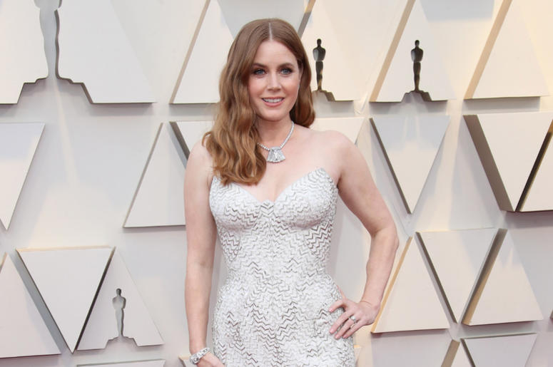 Amy Adams arrives at the 91st Academy Awards at the Dolby Theatre.