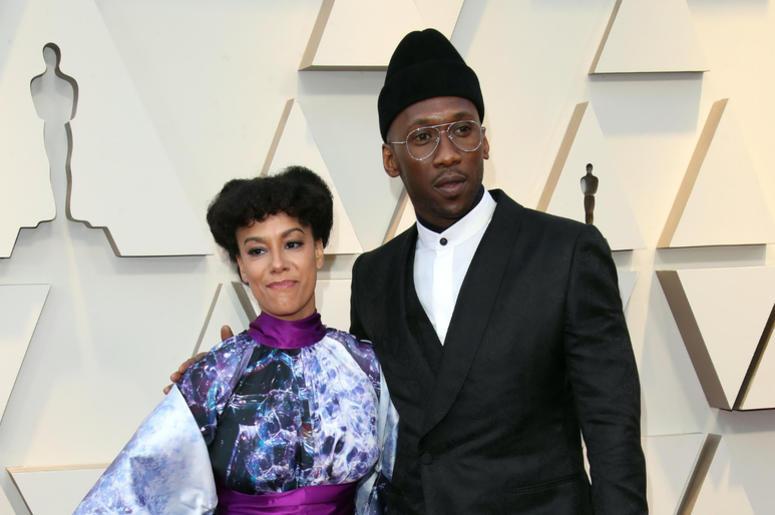 Amatus Sami-Karim, left and Mahershala Ali arrive at the 91st Academy Awards at the Dolby Theatre.