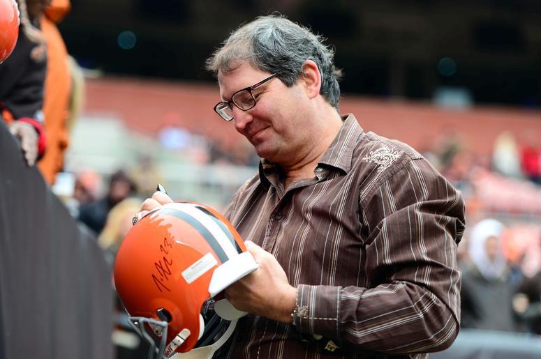 Cleveland Browns former quarterback Bernie Kosar