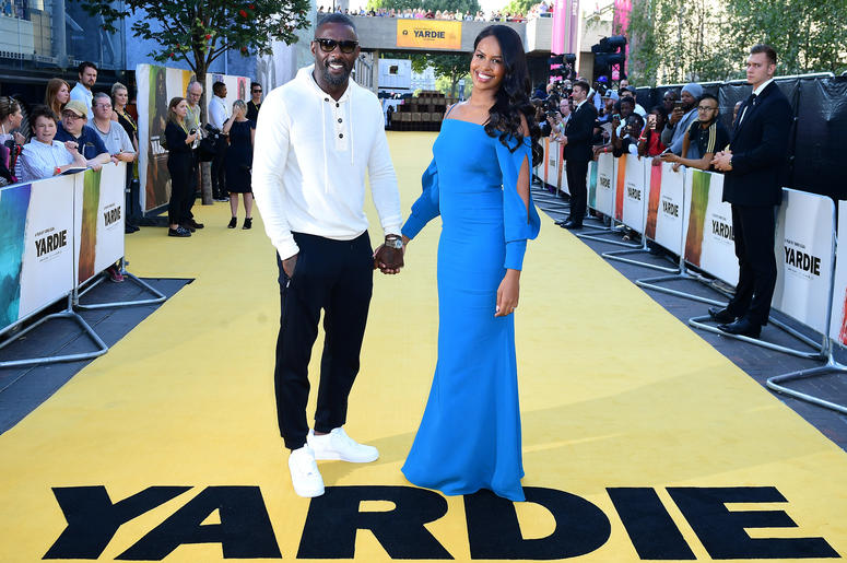 Idris Elba (left) and Sabrina Dhowre attending the Yardie premiere at the BFI Southbank in London.Idris Elba (left) and Sabrina Dhowre attending the Yardie premiere at the BFI Southbank in London.
