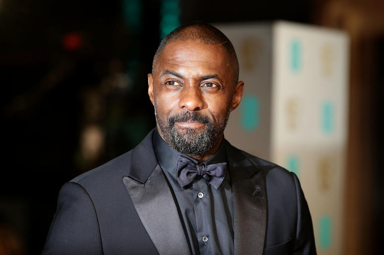 Idris Elba, who has been named the sexiest man alive by American celebrity magazine People.