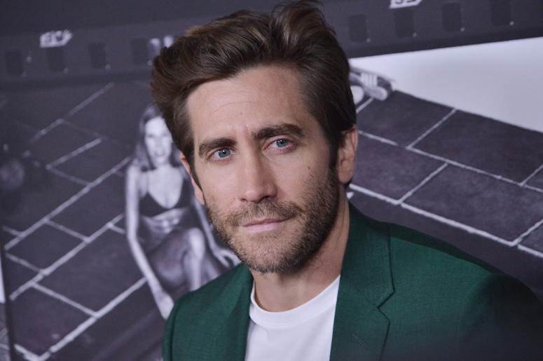 Jake Gyllenhaal arrives at the JONI 75: A Birthday Celebration held at the Dorothy Chandler Pavilion in Los Ange;e, CA Wednesday, ​November 7, 2018.