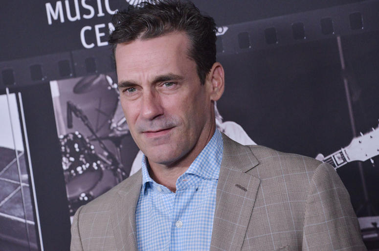 Jon Hamm arrives at the JONI 75: A Birthday Celebration held at the Dorothy Chandler Pavilion in Los Ange;e, CA Wednesday, ​November 7, 2018