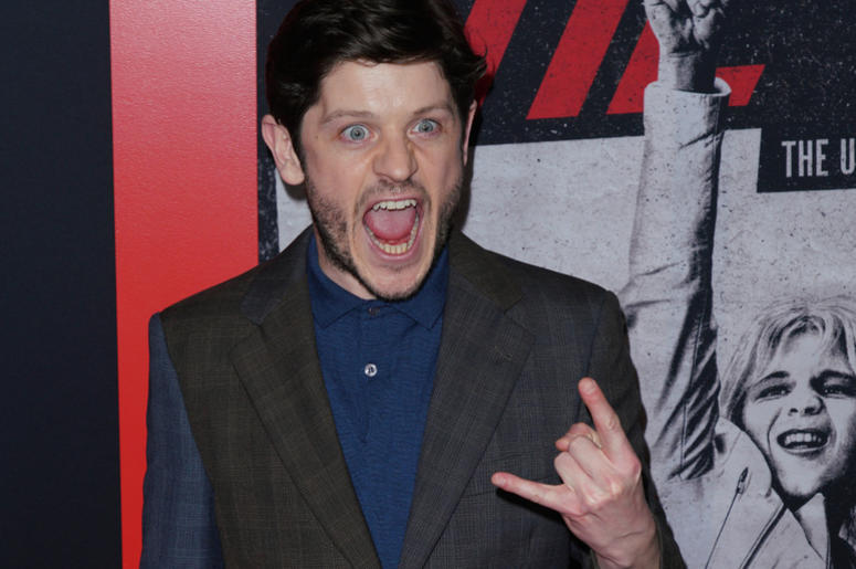 Iwan Rheon at Los Angeles Premiere Of Netflix's 'The Dirt' held at The ArcLight Hollywood - Cinerama Dome on March 18, 2019 in Hollywood, CA,