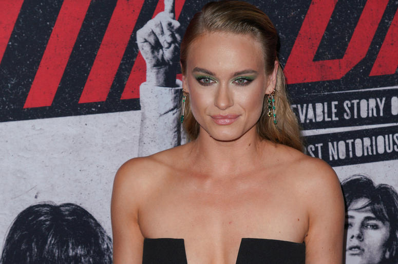 Leven Rambin at Los Angeles Premiere Of Netflix's 'The Dirt' held at The ArcLight Hollywood - Cinerama Dome on March 18, 2019 in Hollywood, CA