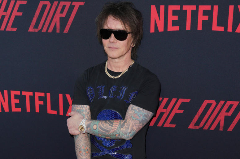 Billy Morrison at Los Angeles Premiere Of Netflix's 'The Dirt' held at The ArcLight Hollywood - Cinerama Dome on March 18, 2019 in Hollywood, CA