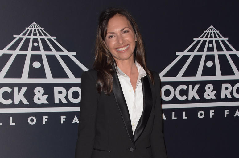 Susanna Hoffs attends the 2019 Rock & Roll Hall Of Fame Induction Ceremony at Barclays Center on March 29, 2019 in Brooklyn, New York.