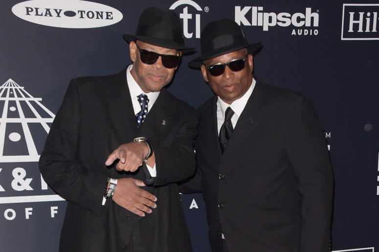 Jimmy Jam, Terry Lewis attend the 2019 Rock & Roll Hall Of Fame Induction Ceremony at Barclays Center on March 29, 2019 in Brooklyn, New York