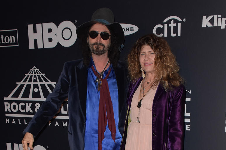 Mike Campbell, Marcie Campbell attends the 2019 Rock & Roll Hall Of Fame Induction Ceremony at Barclays Center on March 29, 2019 in Brooklyn, New York.