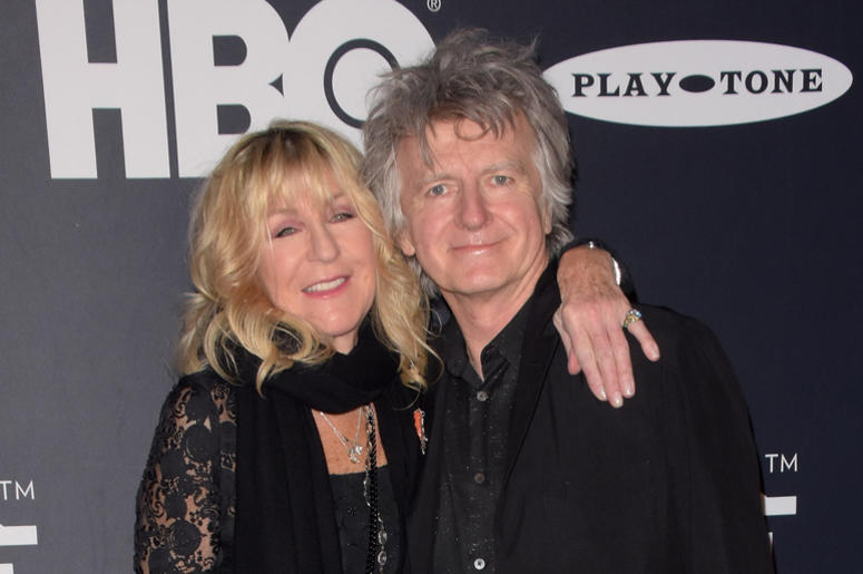 Christine McVie and Neil Finn of Fleetwood Mac attends the 2019 Rock & Roll Hall Of Fame Induction Ceremony at Barclays Center on March 29, 2019 in Brooklyn, New York.