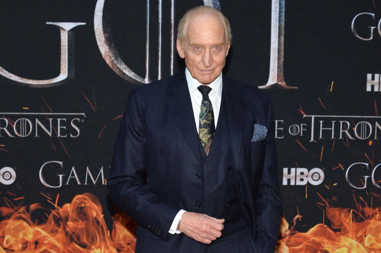 "Charles Dance attends HBO's ""Game of Thrones"" eight and final season premiere at Radio City Music Hall in New York, NY, April 3, 2019."