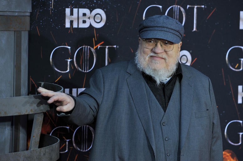 "George R.R. Martin attends HBO's ""Game of Thrones"" eight and final season premiere at Radio City Music Hall in New York, NY, April 3, 2019."