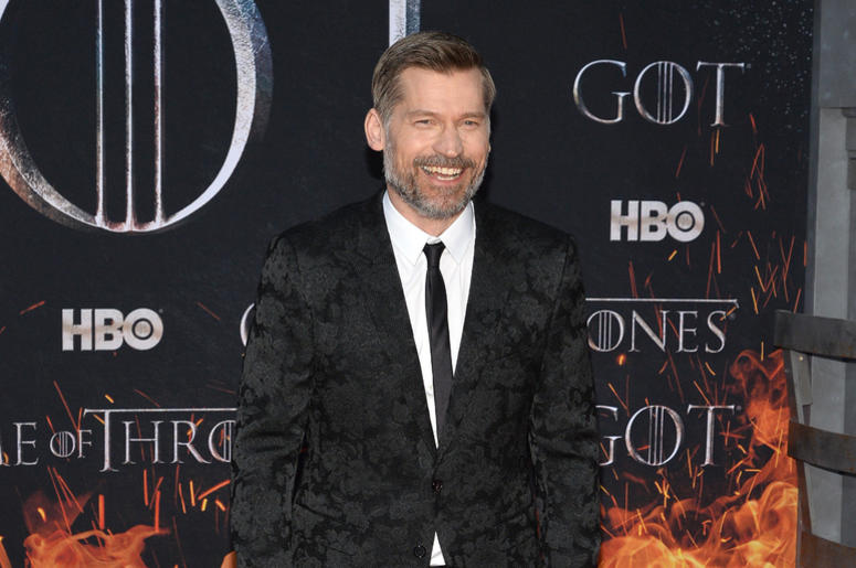 "Nikolaj Coster-Waldau attend HBO's ""Game of Thrones"" eight and final season premiere at Radio City Music Hall in New York, NY, April 3, 2019."