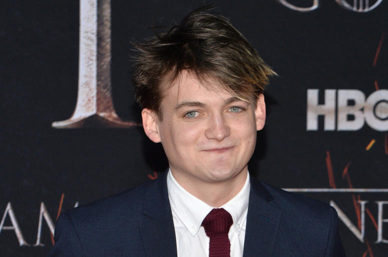 "Jack Gleeson attends HBO's ""Game of Thrones"" eight and final season premiere at Radio City Music Hall in New York, NY, April 3, 2019."