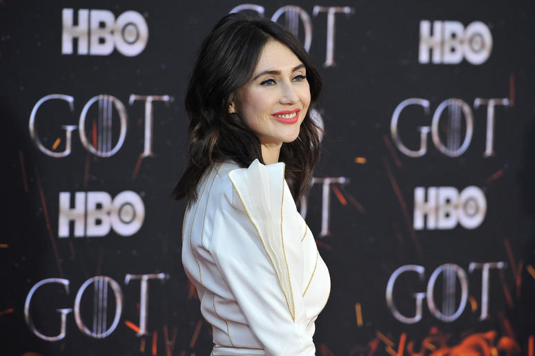 "Carice van Houten attends HBO's ""Game of Thrones"" eight and final season premiere at Radio City Music Hall in New York, NY, April 3, 2019."