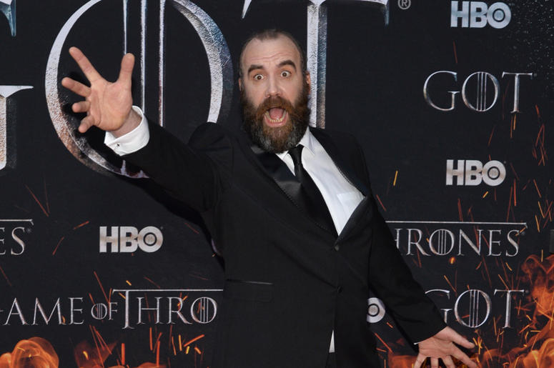 "Rory McCann attends HBO's ""Game of Thrones"" eight and final season premiere at Radio City Music Hall in New York, NY, April 3, 2019."