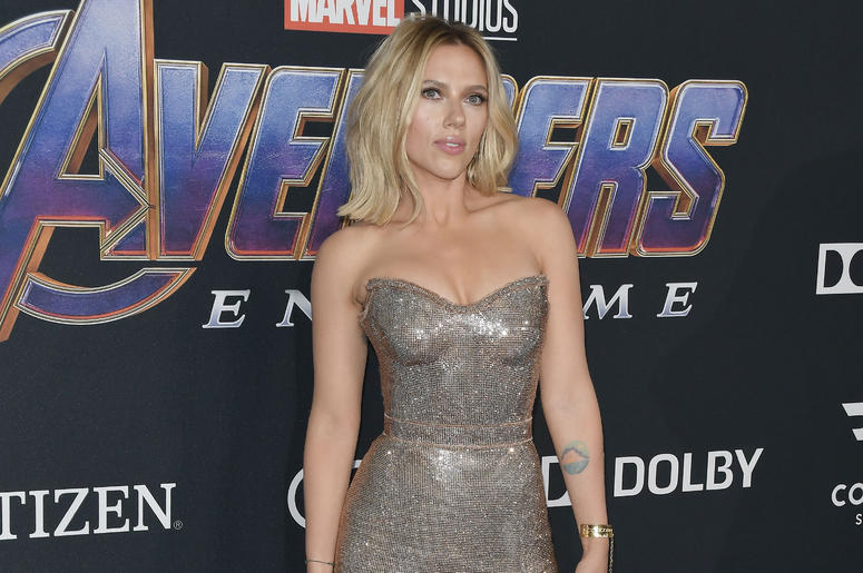 """Scarlett Johansson arrives at Marvel Studios' """"Avengers: Endgame"""" World Premiere held at the Los Angeles Convention Center in Los Angeles, CA on Monday, April 22, 2019."""