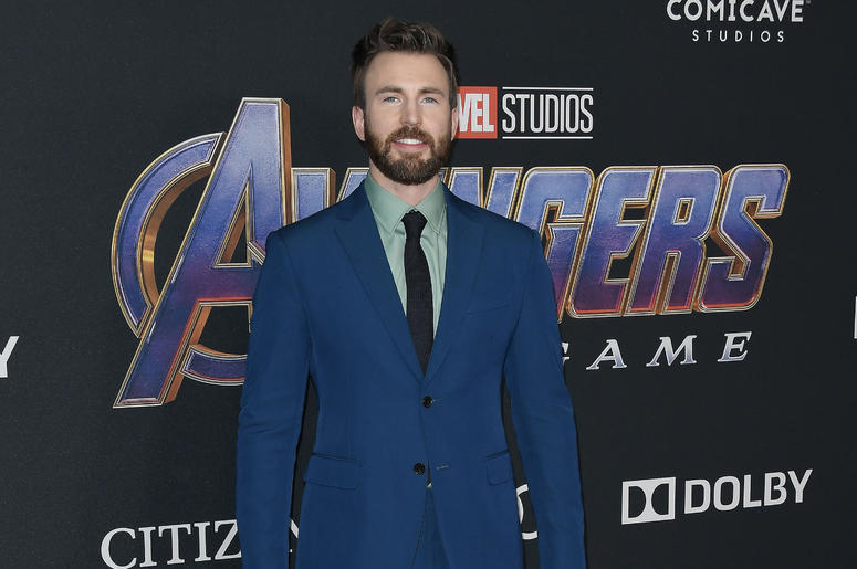 """Chris Evans arrives at Marvel Studios' """"Avengers: Endgame"""" World Premiere held at the Los Angeles Convention Center in Los Angeles, CA on Monday, April 22, 2019."""
