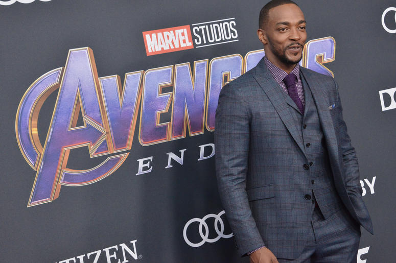 """Anthony Mackie arrives at Marvel Studios' """"Avengers: Endgame"""" World Premiere held at the Los Angeles Convention Center in Los Angeles, CA on Monday, April 22, 2019."""
