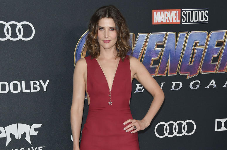 """Cobie Smulders arrives at Marvel Studios' """"Avengers: Endgame"""" World Premiere held at the Los Angeles Convention Center in Los Angeles, CA on Monday, April 22, 2019."""