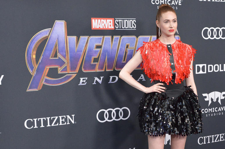 """Karen Gillan arrives at Marvel Studios' """"Avengers: Endgame"""" World Premiere held at the Los Angeles Convention Center in Los Angeles, CA on Monday, April 22, 2019."""