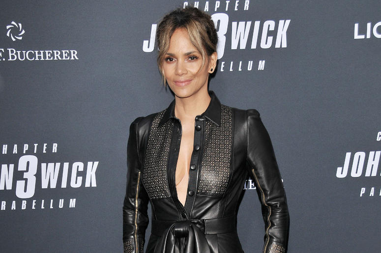 "Halle Berry arrives at Lionsgate's ""John Wick: Chapter 3 - Parabellum"" Los Angeles Special Screening held at the TCL Chinese Theater in Hollywood, CA on Wednesday, May 15, 2019."