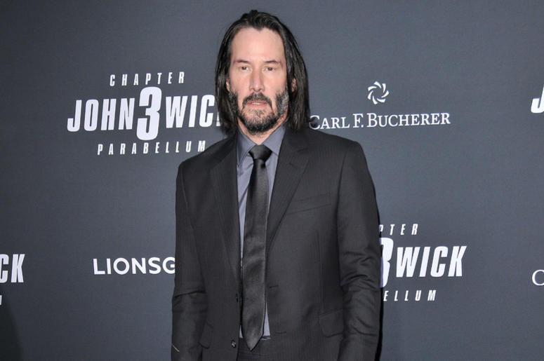 "Keanu Reeves arrives at Lionsgate's ""John Wick: Chapter 3 - Parabellum"" Los Angeles Special Screening held at the TCL Chinese Theater in Hollywood, CA on Wednesday, May 15, 2019."
