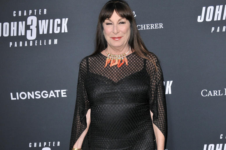 "Angelica Huston arrives at Lionsgate's ""John Wick: Chapter 3 - Parabellum"" Los Angeles Special Screening held at the TCL Chinese Theater in Hollywood, CA on Wednesday, May 15, 2019."