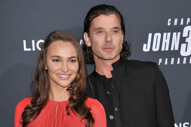 "(L-R) Natalie Golba and Gavin Rossdale at Lionsgate's ""John Wick: Chapter 3 - Parabellum"" Los Angeles Special Screening held at the TCL Chinese Theater in Hollywood, CA on Wednesday, May 15, 2019."
