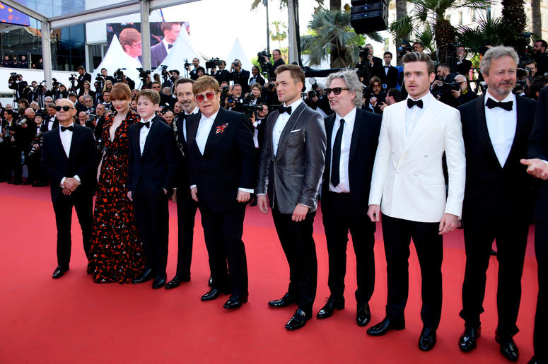72nd Cannes Film Festival 2019, Red Carpet Rocketman. Pictured : Elton John, Cast Rocketman