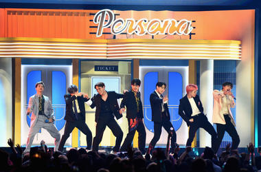 BTS performs onstage during the 2019 Billboard Music Awards at MGM Grand Garden Arena on May 1, 2019 in Las Vegas, Nevada