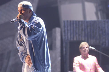 Eminem and Elton John Perform at the GRAMMYs