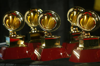 GRAMMYs Statues