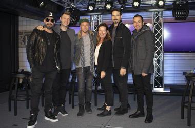 Backstreet Boys at NEW 102.7