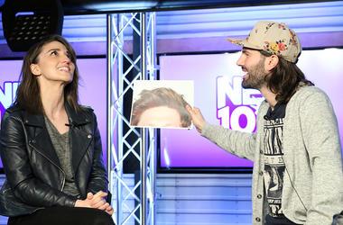 Sara Bareilles at NEW 102.7 with Mike Adam