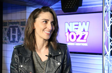 Sara Bareilles at NEW 102.7
