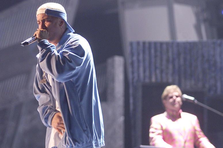 Eminem and Elton John Perform at the GRAMMYs