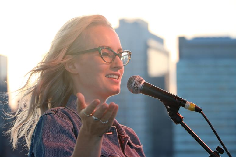 Ingrid Michaelson Performs Aboard the Circle Line Staten Island for NEW 102.7 'Up Close & Personal'