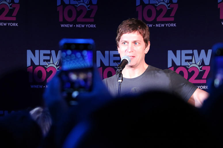 Rob Thomas Performs at Chelsea Music Hall for NEW 102.7's 'Up Close & Personal'
