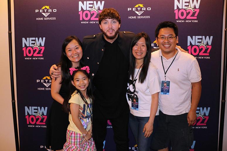 James Arthur Meets Fans at NEW 102.7's 'Up Close & Personal'