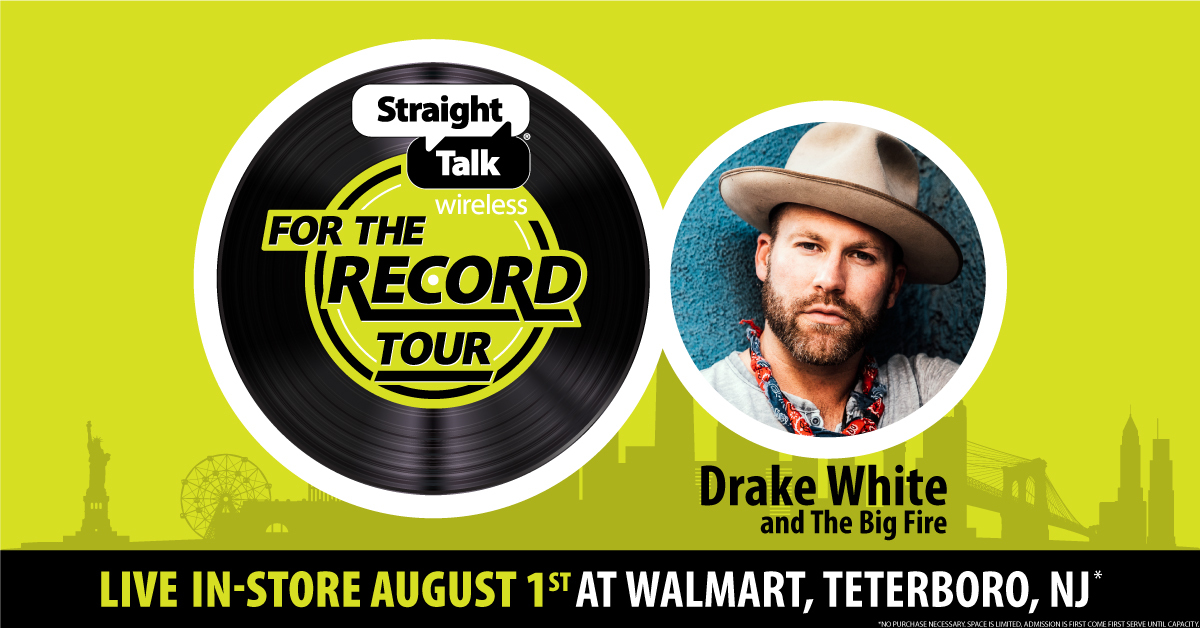 Listen for Your Chance to Win Tickets to See Drake White   New