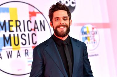 Thomas Rhett attends the 2018 American Music Awards