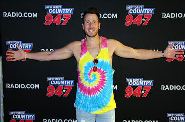 Russell Dickerson Meets Fans at NY Country 94.7's Kick Off to Summer