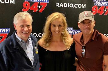 Kelly Ford With Tim McGraw & Jon Meacham