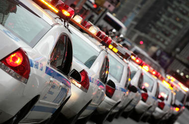 NYPD patrol car