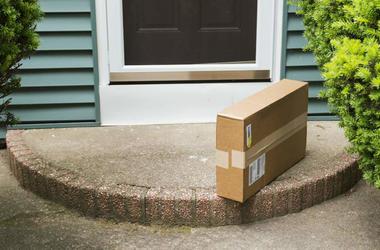 box at doorstep