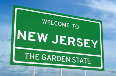 welcome to NJ sign