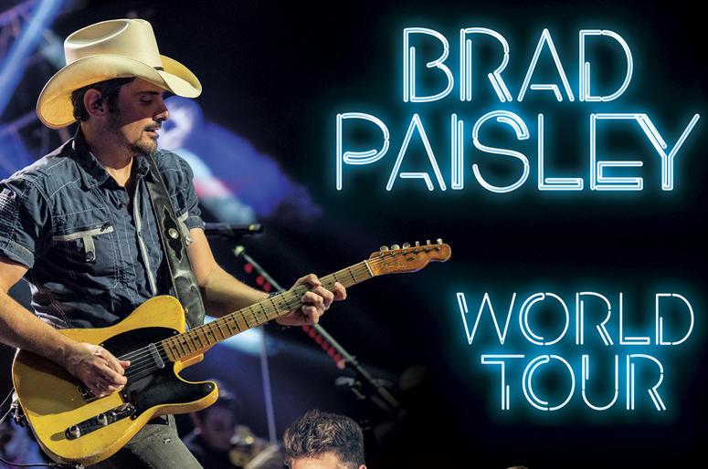 Brad Paisley Tour 2019