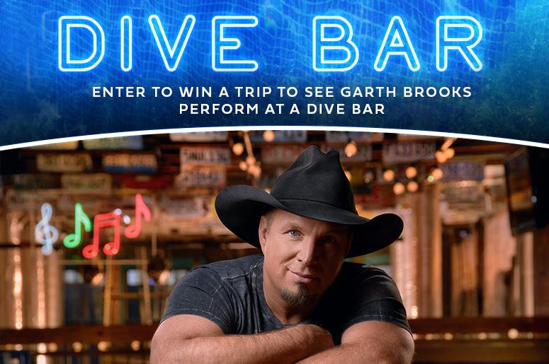 Garth Brooks Dive Bar Promo
