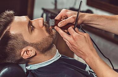 male mustache